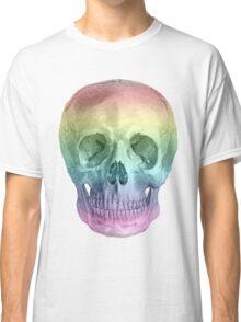Albinus Skull 02 - Over The Rainbow - White Background Classic T-Shirt