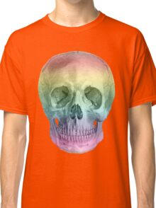 Albinus Skull 02 - Over The Rainbow - White Background Classic T-Shirt