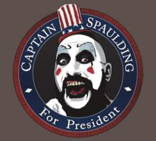 Captain Spaulding For President Kids Clothes