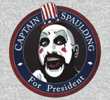 Captain Spaulding For President Baby Tee