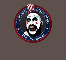 Captain Spaulding For President Unisex T-Shirt
