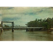 Swan Hill Bridge Photographic Print