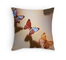 flee II Throw Pillow