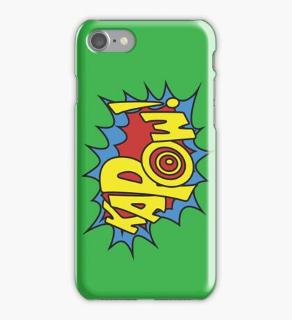 Kapow iPhone Case/Skin