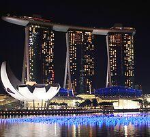 Singapore waterfront by rustycarno