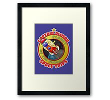 Pikmin Space Trips Framed Print