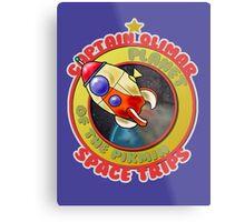 Pikmin Space Trips Metal Print