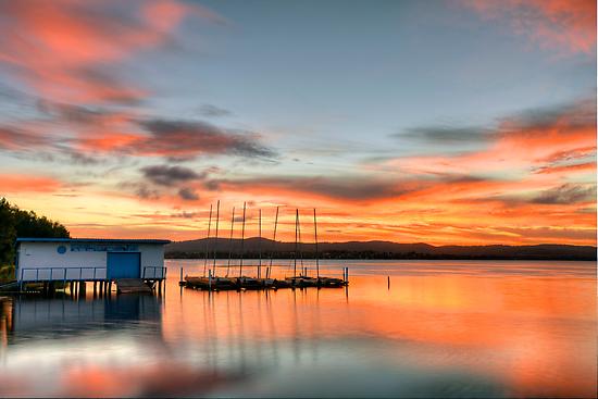 The Boatshed. by Warren  Patten