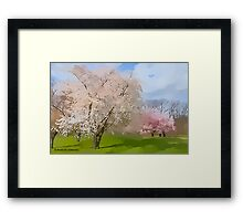 This is a Fine Spring Morning Framed Print