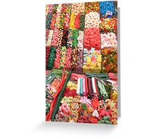 candy store Greeting Card