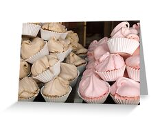 Meringues Greeting Card