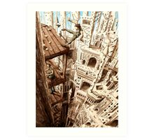 Top of the Cathedral Art Print
