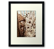 Top of the Cathedral Framed Print