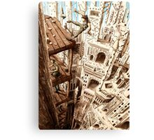 Top of the Cathedral Canvas Print