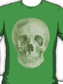 Albinus Skull 03 - Zombie Attack - White Background T-Shirt