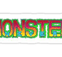 Monster Univers Logo 2013 Sticker