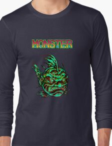 Monster Face Fish 2013 Long Sleeve T-Shirt