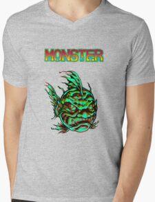 Monster Face Fish 2013 Mens V-Neck T-Shirt