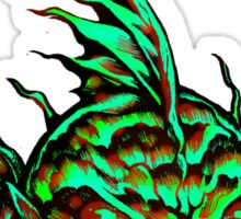 Monster Face Fish 2013 Sticker