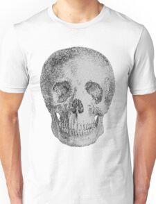 Albinus Skull 04 - Never Seen Before Genius Diamonds  - White Background Unisex T-Shirt