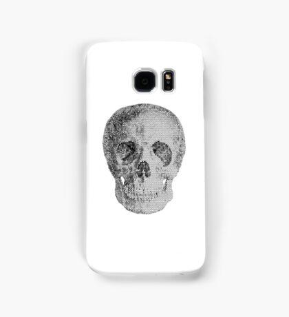 Albinus Skull 04 - Never Seen Before Genius Diamonds  - White Background Samsung Galaxy Case/Skin