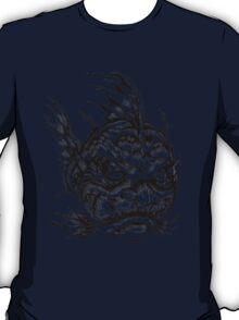 Fish Face Monster 2013 bw T-Shirt