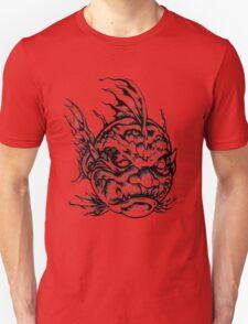 Fish Face Monster 2013 bw Unisex T-Shirt