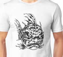Fish Face Monster 2013 bw Unisex T-Shirt