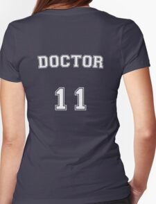 Doctor # 11 Womens Fitted T-Shirt