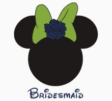 Bridesmaid Minnie Mouse by sweetsisters