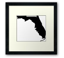 American State of Florida Framed Print