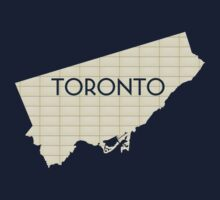 Toronto TTC Yellow Tile Tee by emilyauban