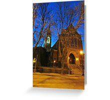 First Lutheran II Greeting Card