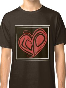 Love typography Classic T-Shirt