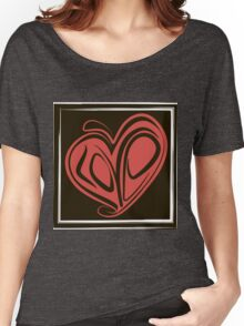 Love typography Women's Relaxed Fit T-Shirt