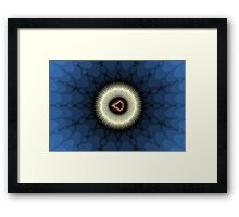 Silver Halo Framed Print