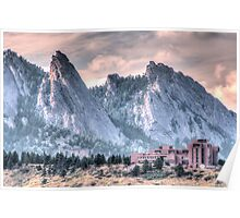 NCAR* and The Flatirons Poster