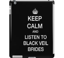 Keep Calm and Listen To BVB iPad Case/Skin