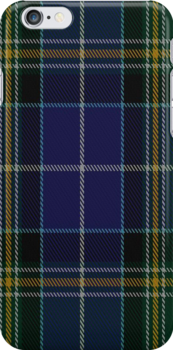00811 West Coast Woven Mills Fashion Tartan #1290 Fabric Print Iphone Case by Detnecs2013