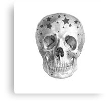 Albinus Skull 06 - Wannabe Star - White Background Canvas Print