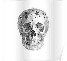 Albinus Skull 06 - Wannabe Star - White Background Poster