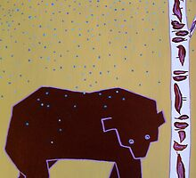 Bear in the Rain by Susan Greenwood Lindsay