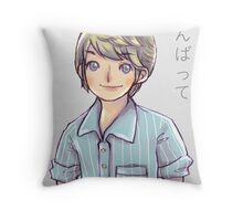 Japanese motivational poster - Tom Throw Pillow