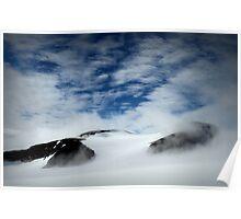 Glacier, Norway Poster