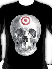 Albinus Skull 07 - Focused Mind - Black Background T-Shirt