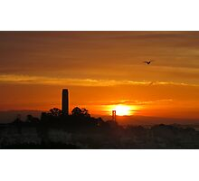 Coit Tower Dawn Photographic Print