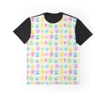 Alice in Wonderland Tea Set Graphic T-Shirt