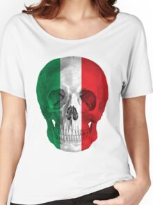 Albinus Skull 08 - Cappuccino Fairy Tale - White Background Women's Relaxed Fit T-Shirt