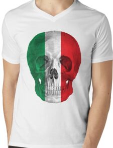 Albinus Skull 08 - Cappuccino Fairy Tale - White Background Mens V-Neck T-Shirt