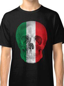 Albinus Skull 08 - Cappuccino Fairy Tale - Black Background Classic T-Shirt